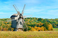 Old windmills on a picturesque hill. - PhotoDune Item for Sale