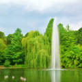 Large fountain in a city park - PhotoDune Item for Sale