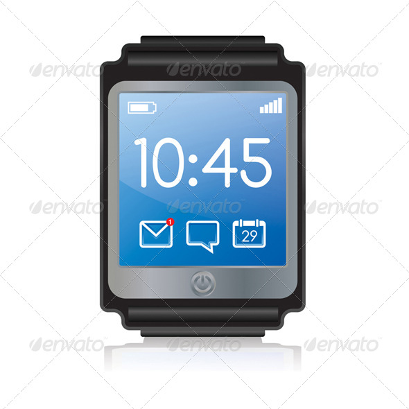 GraphicRiver Vector Smartwatch Illustration 8208413