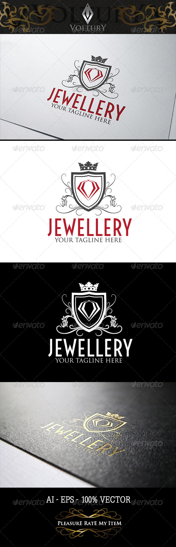 GraphicRiver Jewellery Logo 8208671