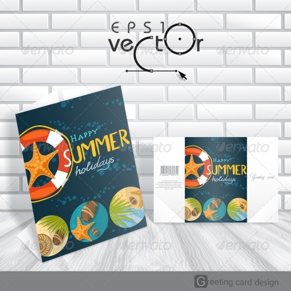GraphicRiver Greeting Card Design Template 8208735