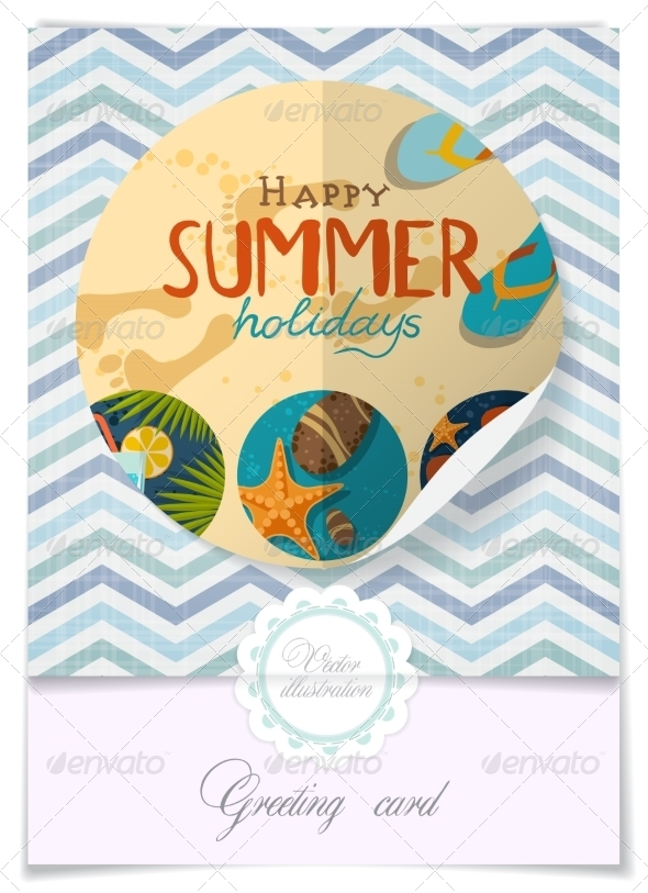 GraphicRiver Greeting Card Design Template 8208737