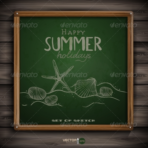 GraphicRiver Set of Hand Drawn Various Elements 8208746