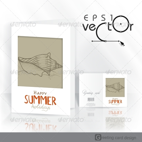 GraphicRiver Greeting Card Design Template 8208747
