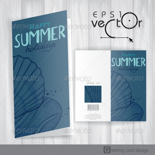 GraphicRiver Greeting Card Design Template 8208749