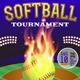 Vector Softball Tournament Illustration - GraphicRiver Item for Sale