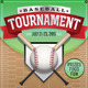 Vector Baseball Tournament Illustration - GraphicRiver Item for Sale