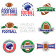 Vector Fantasy Football Emblem Illustrations - GraphicRiver Item for Sale