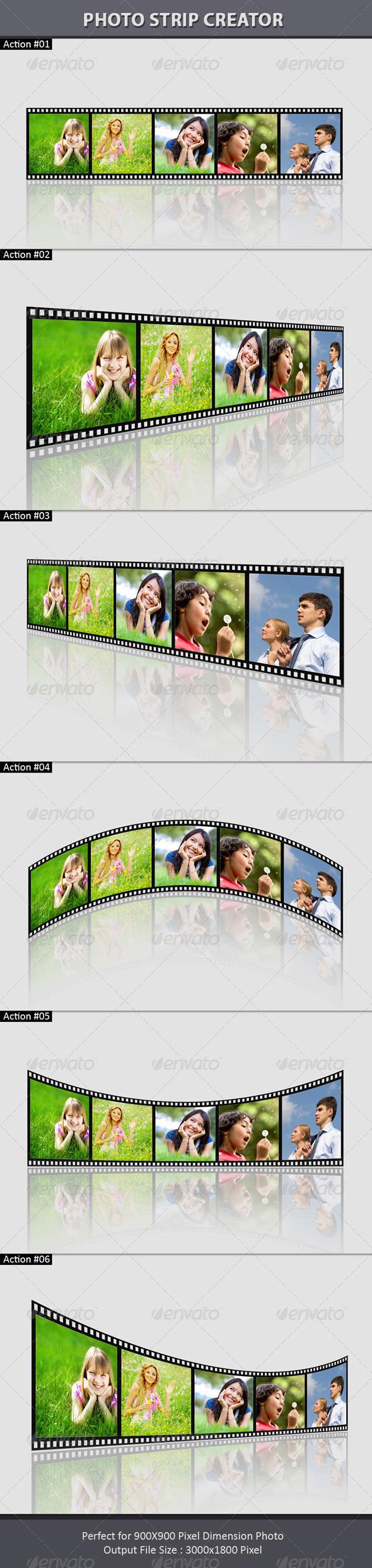 GraphicRiver Photo Strip Creator 8208884