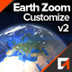 Earth Zoom Customize Kit - VideoHive Item for Sale