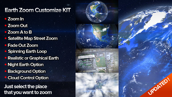 Earth Zoom Customize Kit