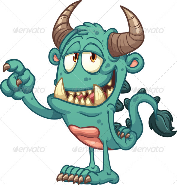 GraphicRiver Cartoon Monster 8209178