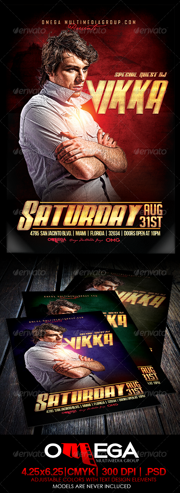 GraphicRiver Special Guest Vikka 8209348