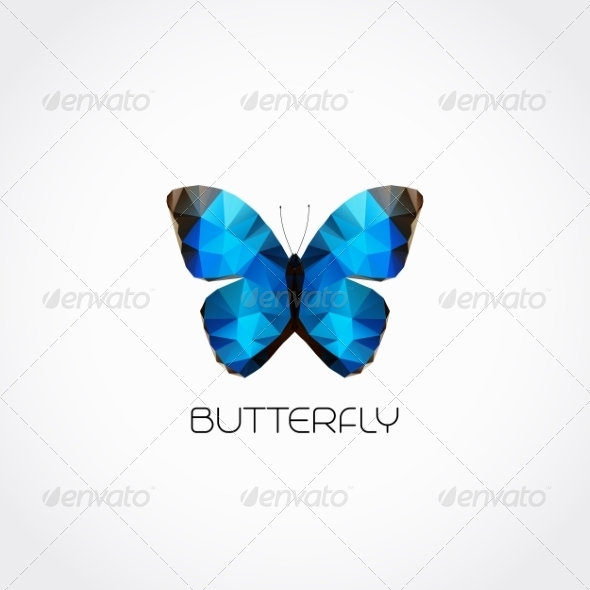 GraphicRiver Butterfly Symbol 8209449