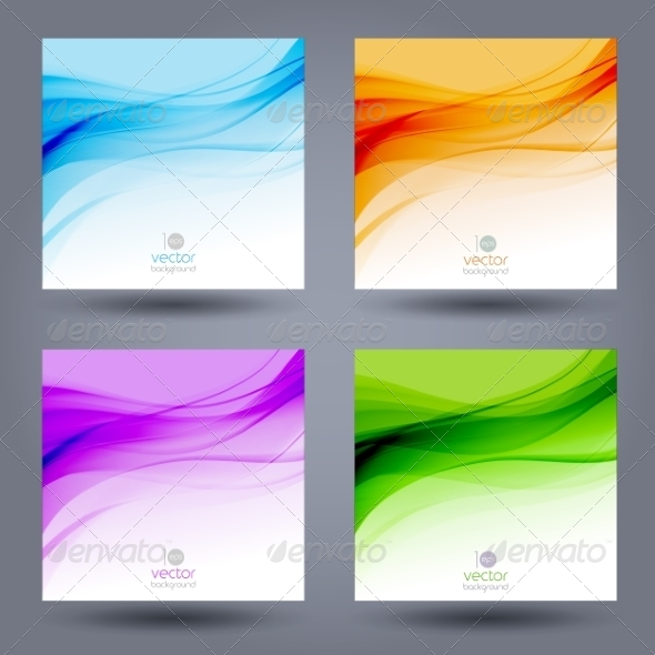 GraphicRiver Abstract Color Template Background 8209527