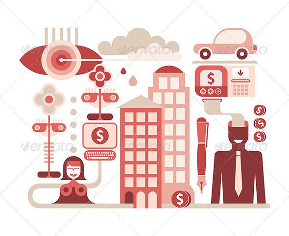 GraphicRiver Economy Illustration 8209545