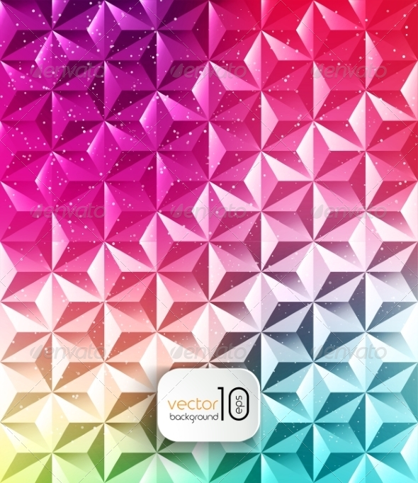 GraphicRiver Abstract Geometric Polygonal Shiny Background 8209606