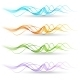 Abstract Colorful Transparent Waves - GraphicRiver Item for Sale