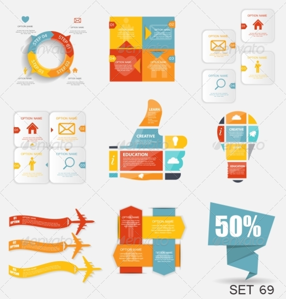 GraphicRiver Collection of Infographic Templates for Business 8210011