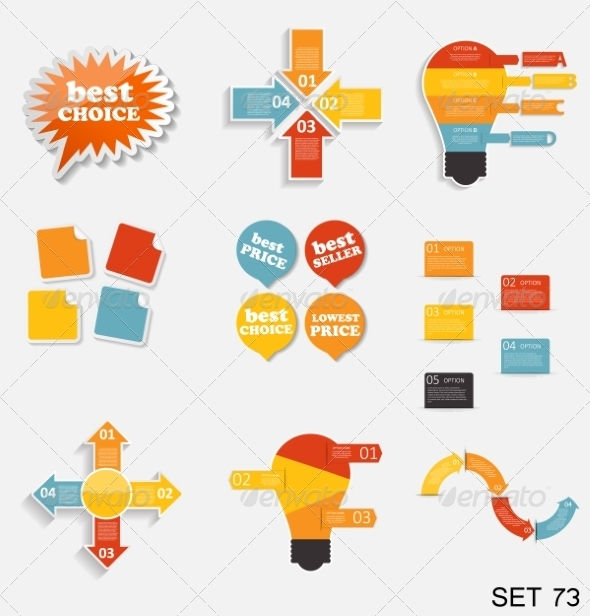 GraphicRiver Collection of Infographic Templates for Business 8210093