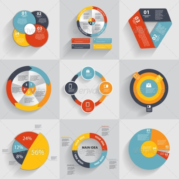 GraphicRiver Collection of Infographic Templates for Business 8210135