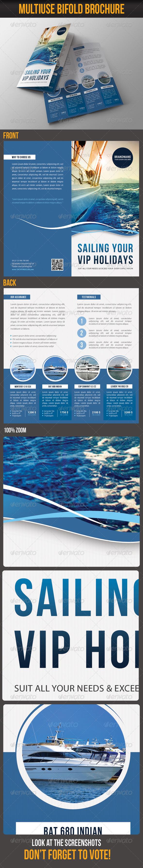 GraphicRiver Multiuse Bifold Brochure 61 8210351