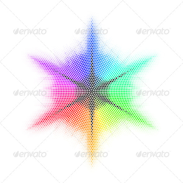 GraphicRiver Mosaic Rainbow 8210356