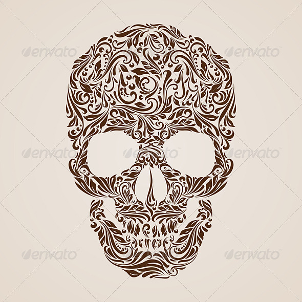 GraphicRiver Skull Pattern 8210358