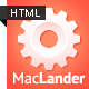 MacLander – Premium HTML App Site Template