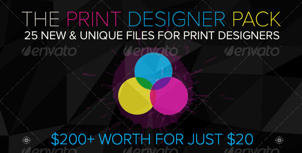 GraphicRiver The Print Designer Pack 7 Days to Stock Up 8210834
