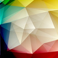 Abstract geometric polygonal shiny background - PhotoDune Item for Sale