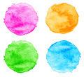 Blue Watercolor splatters. - PhotoDune Item for Sale