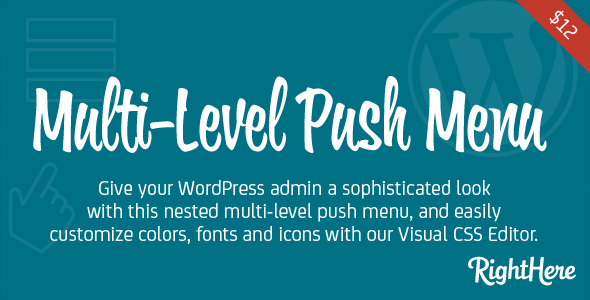 CodeCanyon Multi-Level Push Menu for WordPress 8214499