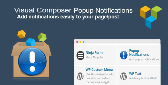 CodeCanyon Visual Composer Popup Notifications 8215036