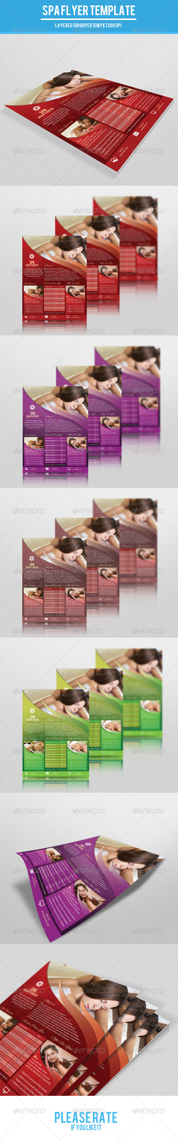 GraphicRiver Beauty Salon Flyer-V76 8215226