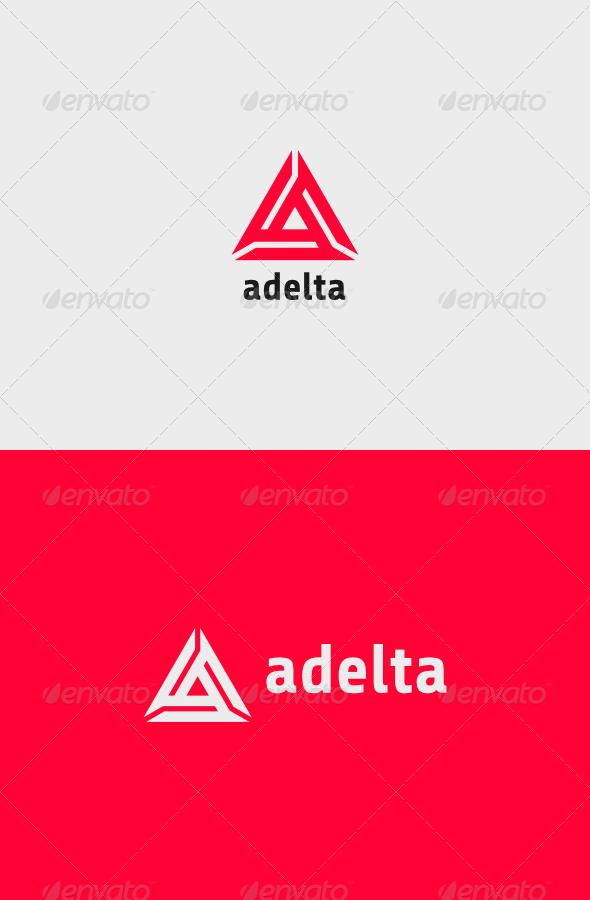 GraphicRiver Adelta Logo 8215340