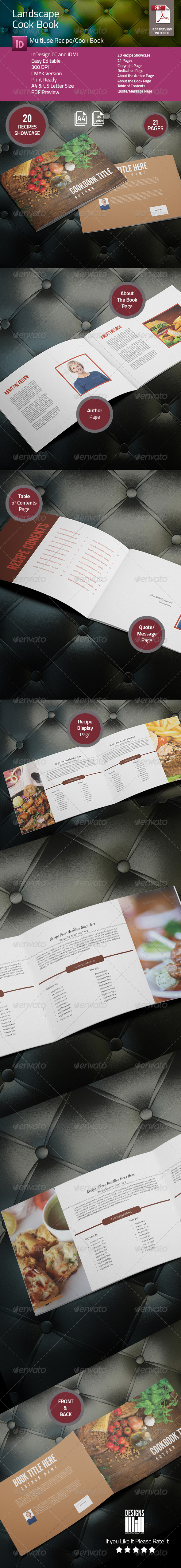 GraphicRiver Landscape Cook Book 8215473