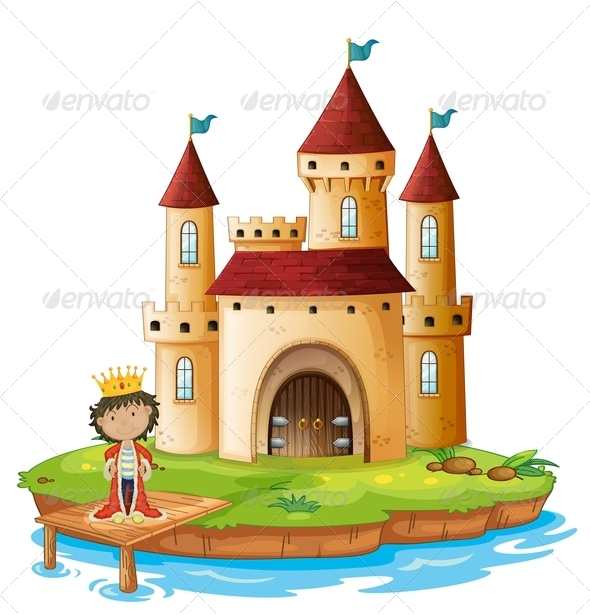 GraphicRiver A King Outside his Castle 8215798