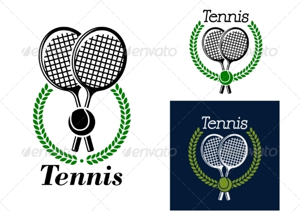 GraphicRiver Tennis Emblem 8215834