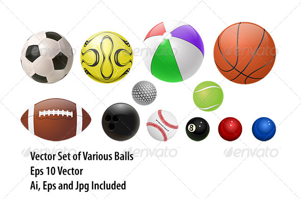GraphicRiver Balls Set 8206335