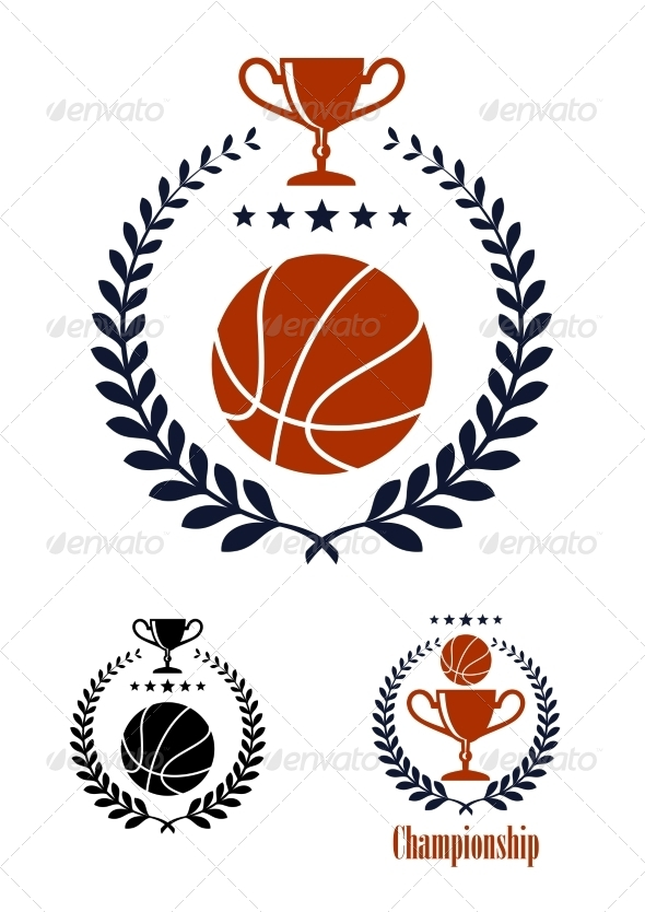 GraphicRiver Basketball Emblem 8216104