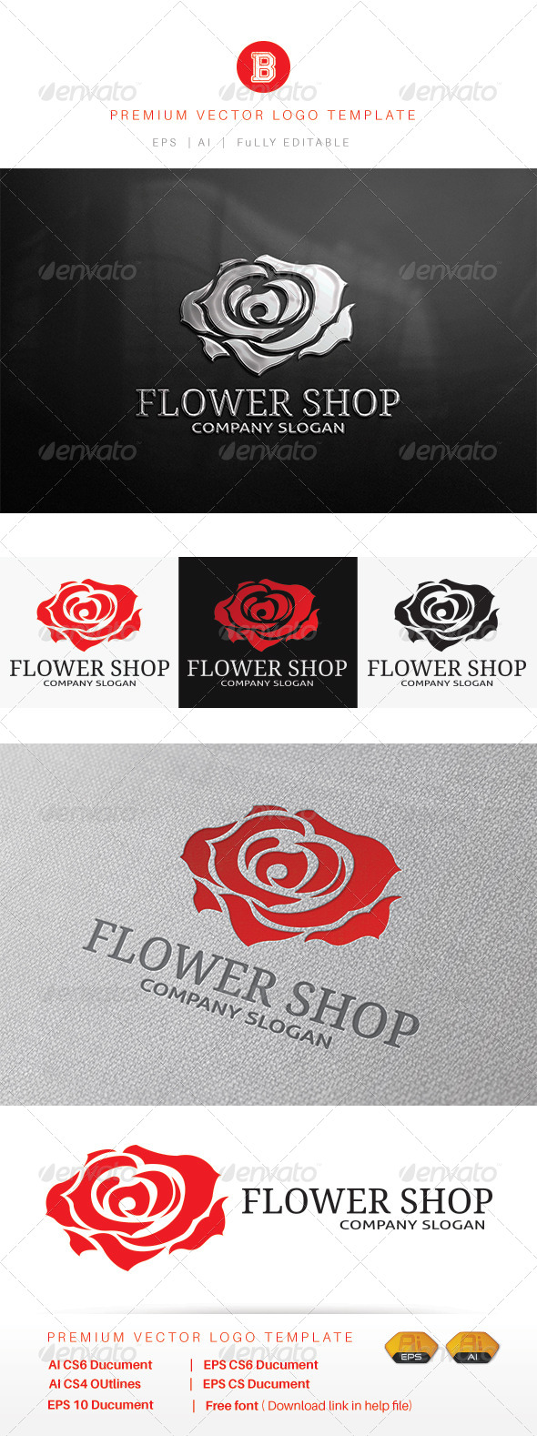 GraphicRiver Flower Shop 8216163