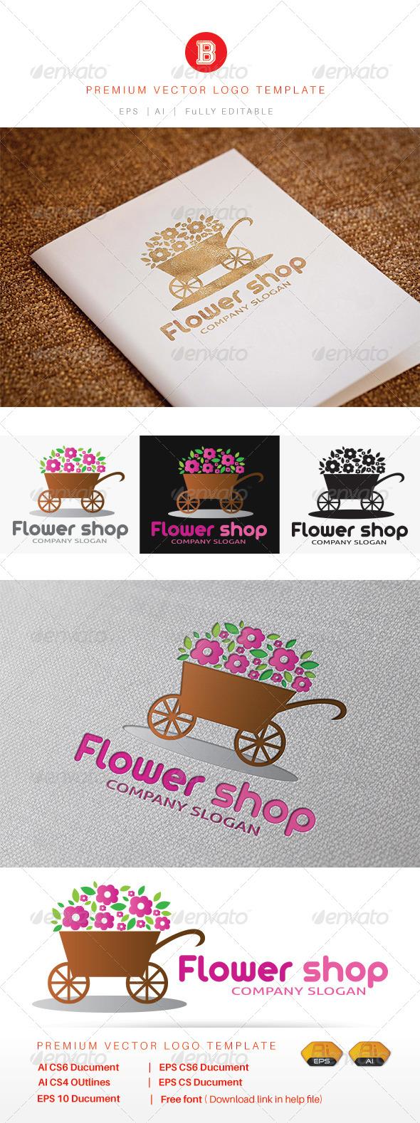 GraphicRiver Flower Shop V.2 8216168