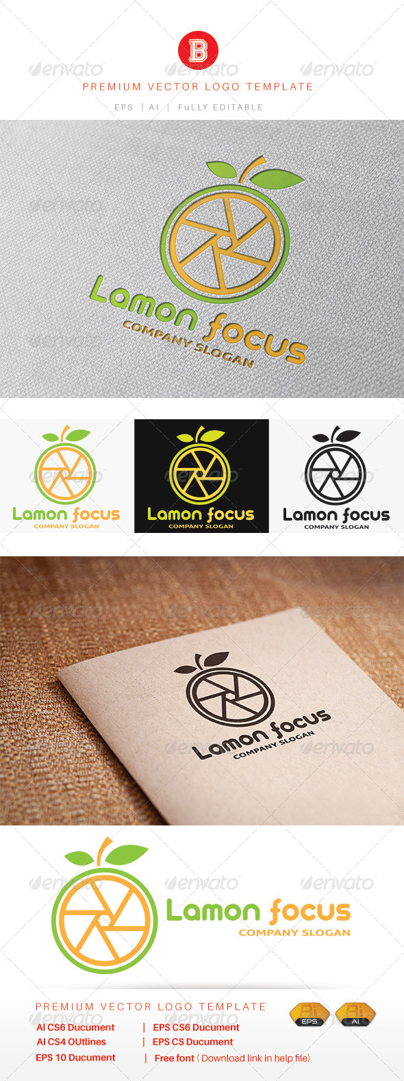 GraphicRiver Lamon Focus 8216173