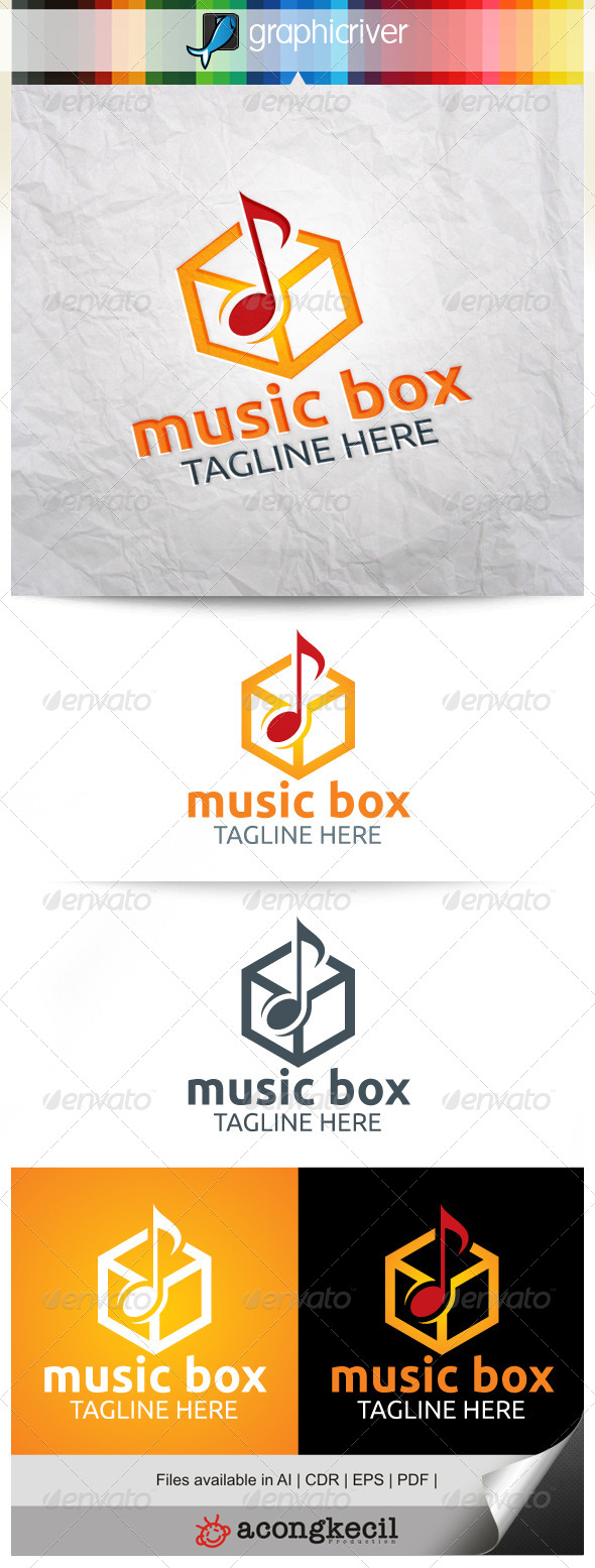 GraphicRiver Music Box 8216419