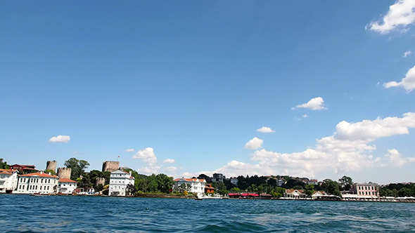 Anatolian Castle at The Bosphorus