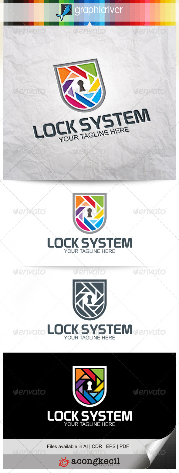 GraphicRiver Lock System V.5 8216454