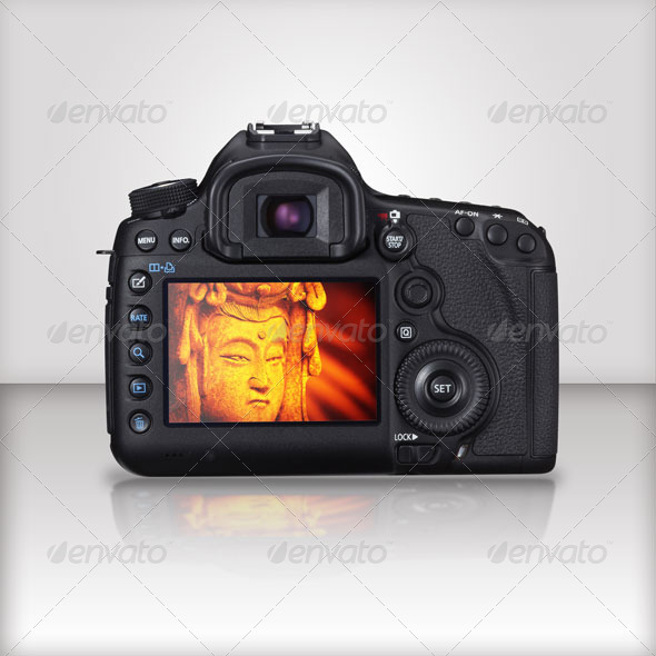 GraphicRiver EOS camera Studio MockUp 7854035