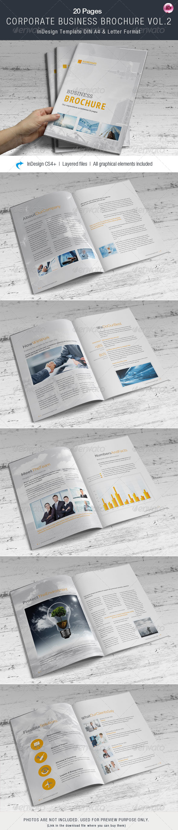 GraphicRiver Corporate Business Brochure Vol.2 8216474