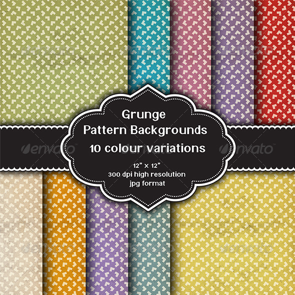 Grunge Pattern Backgrounds